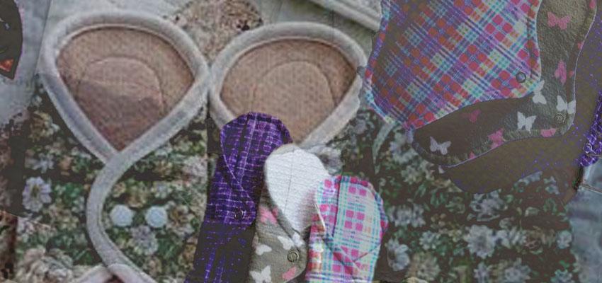 Toallitas de tela, otra opción sustentable