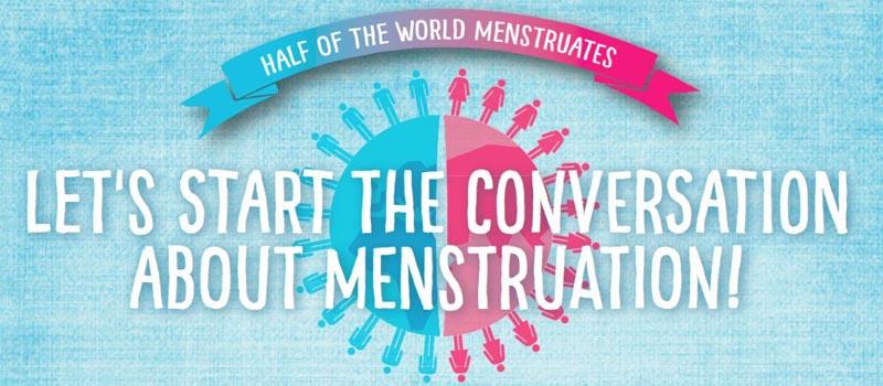 Se viene el 28 de mayo. Dia Internacional de la Higiene Menstrual.