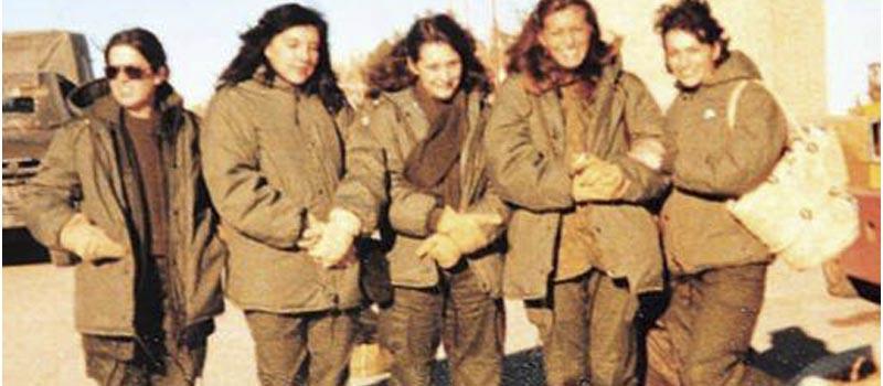 Las mujeres de Malvinas