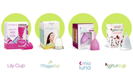 Copa Copita Menstrual diferencias entre marcas